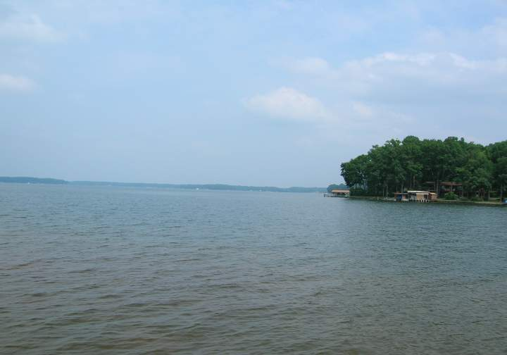 Summer 2005 for Lake gaston fishing